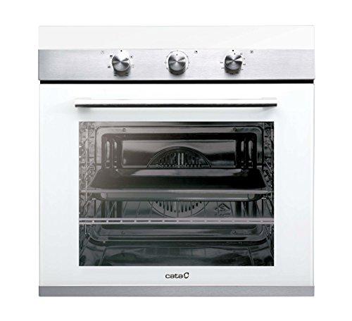 Cata| Horno eléctrico multifunción | Modelo CM760 AS WH | 6 funciones | Temperatura hasta 250ºC | Sistema de limpieza AquaSmart | Clase de eficiencia energética: A | Blanco