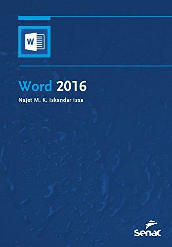 Word 2016 (Informática) (Portuguese Edition)