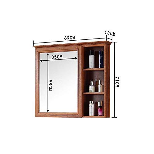 ZHANG HUA-tafellamp Z-H badkamermeubel, waterdicht, met spiegel