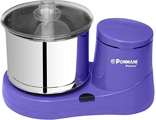Ponmani Wet Grinder, 180W (Purple)