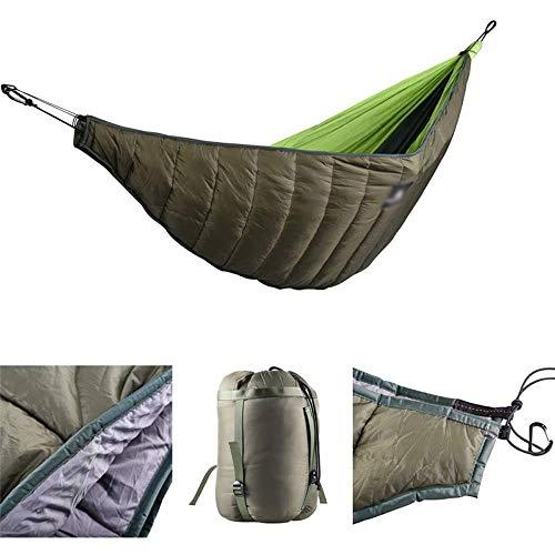 Luorizb Hiver hamac Underquilt, Chaud Camping léger hamac sous Quilt Longueur sous Couverture Pleine de Backpacking Éclairage extérieur Équipement de Repos