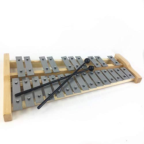 D25 wooden chromatic glockenspiel with heavy metal...