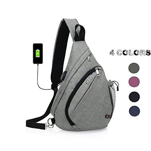 CHIKIENCALL Business Laptop Backpack with USB Charging Port Travel Shoulder Bag Fits 16 inch Lightweight Laptop and Notebook Waterproof Men&Women School Rucksack Knapsack Daypack College Bookbag