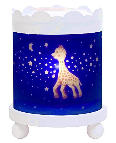 Trousselier nachtlampje Sophie, de giraffe, sterren, wit, 12 V