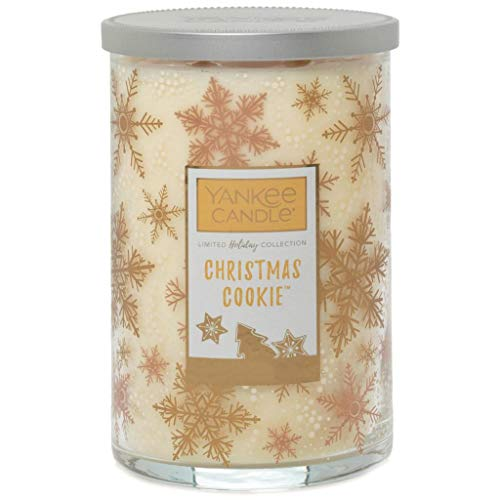 YANKEE CANDLE Christmas Cookie Large Tumbler 2-Wick Candle, 623g