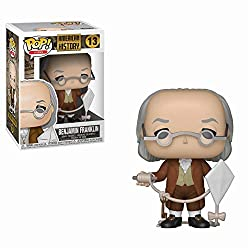 Image: Funko Pop! Icons: History - Benjamin Franklin, Multicolor