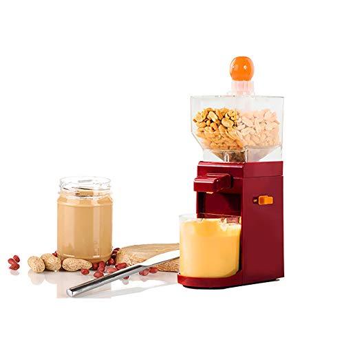 Sarplle Máquina de Mantequilla de maní Procesador de Alimentos multifunción Mini máquina de café eléctrica de Acero Inoxidable para maní, anacardos, almendras, avellanas
