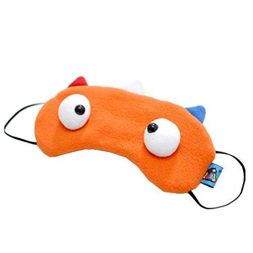 Lot de 2 Creative Cartoon Eye Masque drôle souple, Netherlands Couleur Drapeau