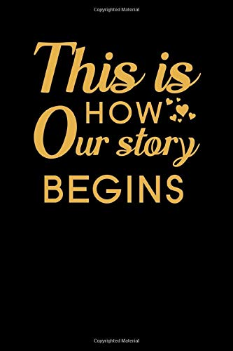 This is How Our Story Begins: Couples Journal To Write In, long distance relationships gifts, relationship journal for couples, couples activity book, Memory book for Couples