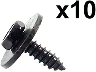 BMW (select 1999+ models) Hex Head Screw Various Uses (set 10)