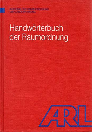 Handwörterbuch der Raumordnung