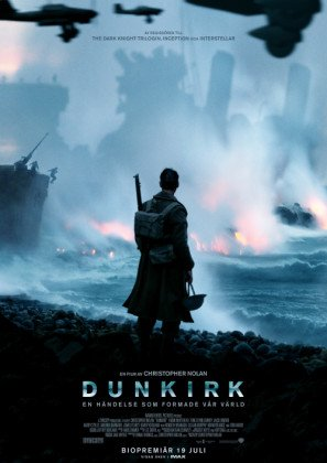 Dunkirk – Swedish Movie Wall Poster Print - 43cm x 61cm / 17 Inches x 24 Inches A2