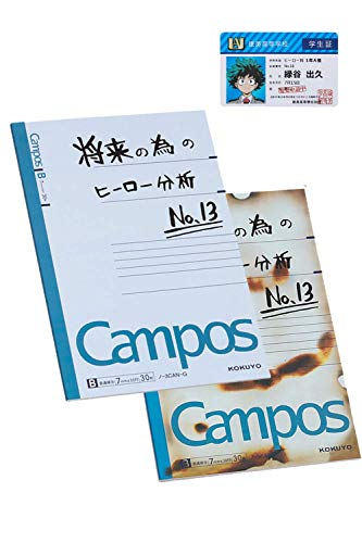 Thundervolt Anime Notebook and Student Card Set