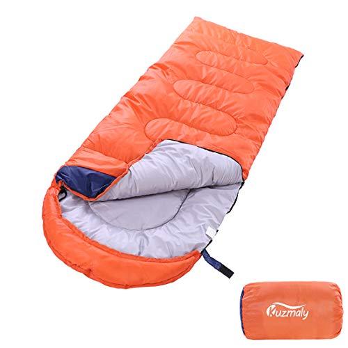Kuzmaly Camping Sleeping Bag 3 Seasons Lightweight &Waterproof with Compression Sack Camping Sleeping Bag Indoor & Outdoor for Adults & Kids…