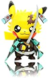 TOMTO Demon Slayer Actions Figures Pikachu Cosplay Kamado Tanjirou Figure Statues Kimetsu no Yaiba Collection Birthday Gifts (Tanjirou)