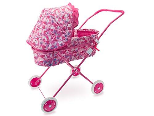 Set 04060 – kinderwagen voor poppen van metaal met Amazons uittrekbaar