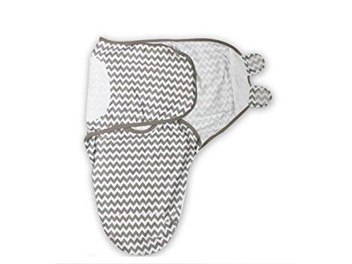 Bébé Cadeau doux nouveau-né Lange d'été mince Section de couchage Wrap Couverture Convient pour 0–3 mois