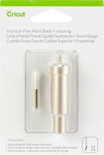 Cricut Premium Fine Point Blade Plus Housing, Multicolor