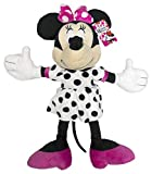 Jay Franco Disney Dots are The New Black Plush Pillow Buddy, (Official Product), C. Minnie Mouse