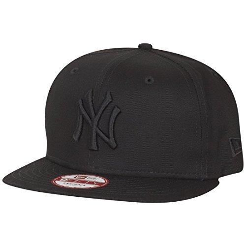New Era Cap MLB 9fifty NY Yankees- Baseball Beretto unisex, Nero (Black), Medium (Taglia produttore: Small/Medium)