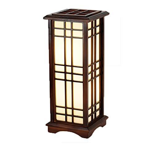 JTYP Tischlampe, japanische Art und Raum Lampe Tatami Stehlampe Wohnzimmer Esszimmer Leisure Club Tea Room Tischlampe (Size : B)