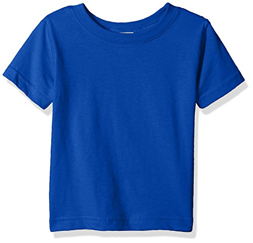 Clementine Baby Infant Fine Durable Jersey T-Shirt, Royal, 24MOS