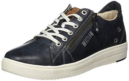 Mustang 4133-301-820, Sneakers Basses Homme, Bleu (Navy 820), 43 EU