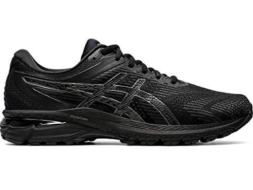 ASICS Men's GT-2000 8 (4E) Shoes, 9.5XW, Black/Black