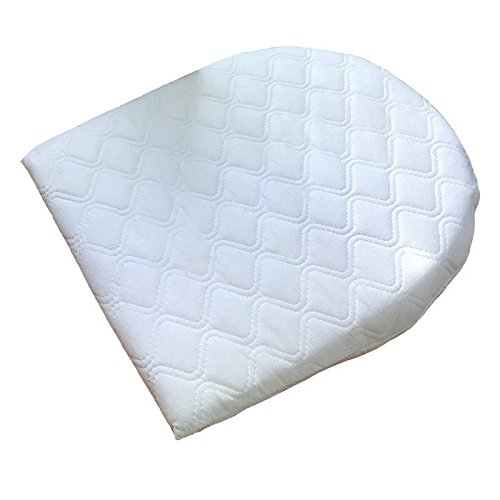 Bluemoon Bedding Baby Breath Easy Sleep Wedge Pillow - Pram Moses Basket Crib -Helps Colic Reflux