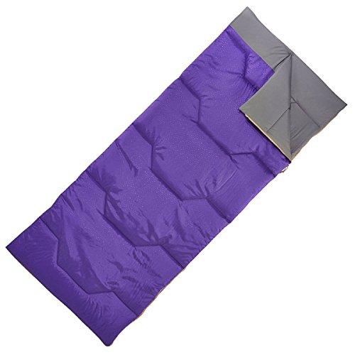 Yy.f Sac De Couchage Léger Et Portable Sac étanche Compressé Adapté Pour Les Voyages D'été Camping Randonnée Activités De Plein Air,Purple-190*80cm