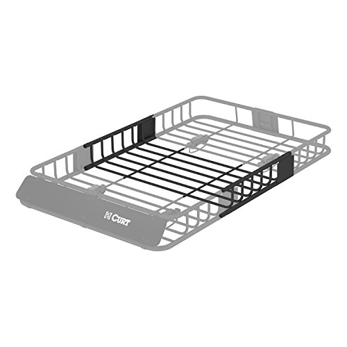 CURT 18117 21 x 37-Inch Roof Rack Extension for CURT Rooftop Cargo Carrier 18115