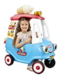 Little Tikes Cozy Ice Cream Truck, Ride-On Toy Ice Cream Truck Cozy Coupe for Ages 1 1/2 - 5 Years