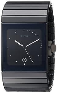 Rado Men's R21717152 Ceramica XL Black Dial Watch image