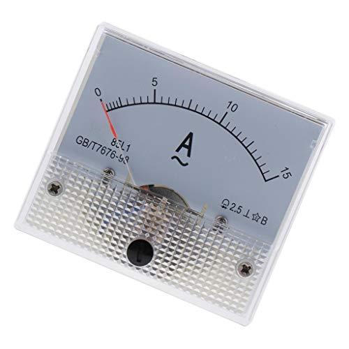 Amuzocity Amperemeter Amperemeter Für Analoges Amperemeter CA 85L1-0-15A