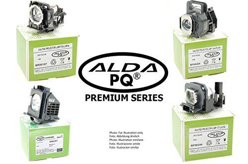 Alda PQ-Premium, Lámpara de proyector Compatible con BL-FU195A, BL-FU195B, BL-FU195C para OPTOMA DW441, H115, S341, TW342, W340, W341, W345, W355, X341 proyectores, lámpara con Carcasa