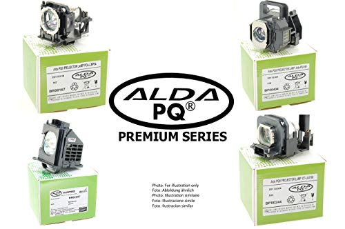 Alda PQ-Premium, beamerlamp/reservelamp compatibel met 331-1310, 725-10263, NP20LP voor Dell S500, S500 Ultra Short Throw, S500WI projectoren, lamp met behuizing