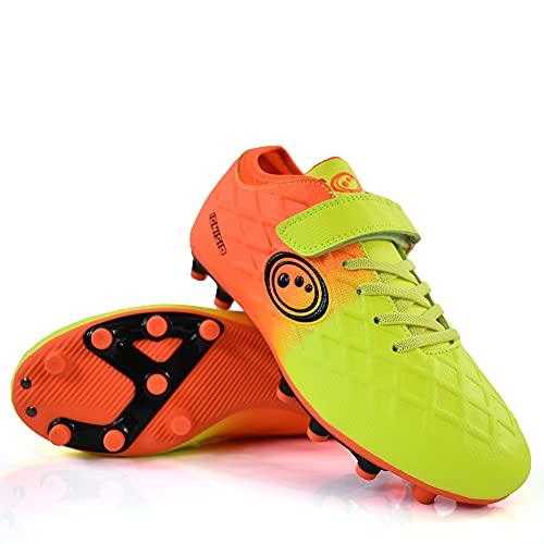 Optimum Unisex Kid s Ignisio Football Boot, Aztec Orange, Jnr UK 1