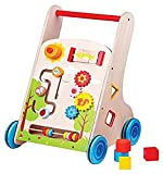 Lelin Toys - 31302 - Véhicule Pour Enfant - Chariot À Pousser Multi-Activités 7 En...