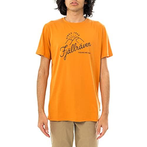 Fjällräven Sunrise T-Shirt M Herren, Herren, Unterhemd, F87047, orange (Spicy Orange), L