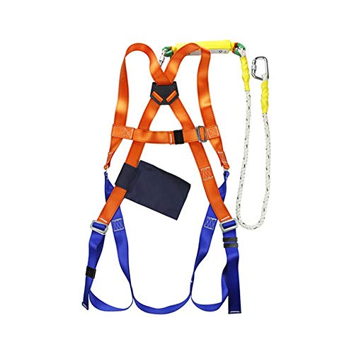 Buy Bargain XTSP Seat Belts - Safety Belt Outdoor Body Harness Belt Work Belt (Color : Orange)