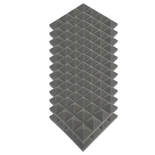 PEGONE 12-teilige Inneneinrichtung, schallabsorbierende Schaumstoffwand, schallabsorbierende Baumwolle für den Innenbereich und schalldichter Schaumstoff, flammhemmend