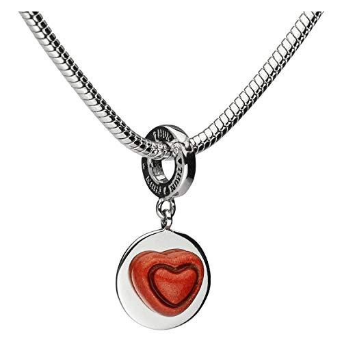 THUN ® - Charm Collection Love - Linea Amore - Ceramica - h 2,7 x 1,3 cm