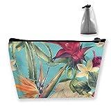Flores Coloridas Bolsas de Maquillaje Organizador de Accesorios de Bolsa de artículos de Viaje