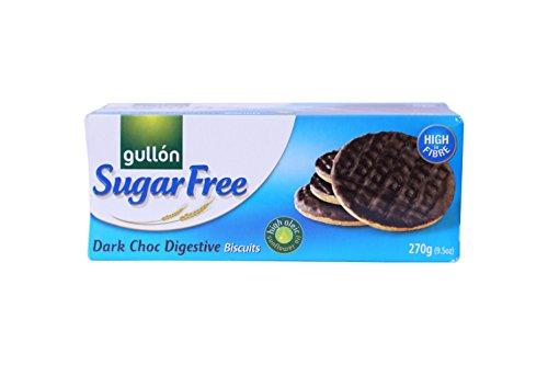 Gullón Digestive zuckerfreie Kekse mit dunkler Schokolade 270g