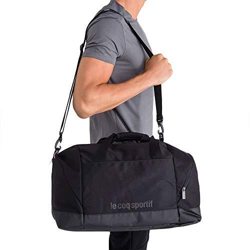 Le Coq Sportif ESS Sportbag Black Bolsa De Deporte, Mujer, Talla Única