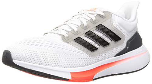 adidas EQ21 Run, Zapatillas de Running Hombre, FTWBLA/NEGBÁS/GRISEI, 42 EU
