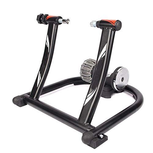 Inicio Equipos Bicicleta Entrenadores de resistencia Resistencia a fluidos Bicicleta Turbo Trainer Soporte Mute Bike Soporte plegable para entrenamiento de fitness para interiores Plataforma para m