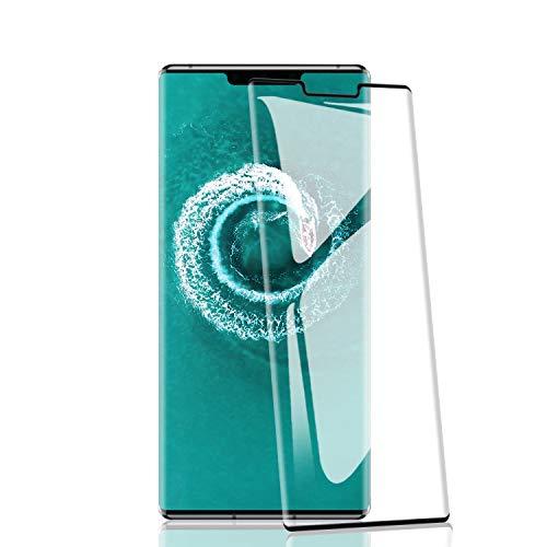 RIIMUHIR 2 Pièces de Verre Trempé pour Huawei Mate 30 Pro, Dureté 9H, Anti-Rayures, HD Transparent, Ultra-Clarté, Anti-Traces de Doigts