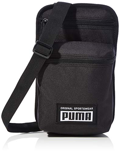 PUMA Academy Portable Mochilla, Unisex Adulto, Black, Talla única