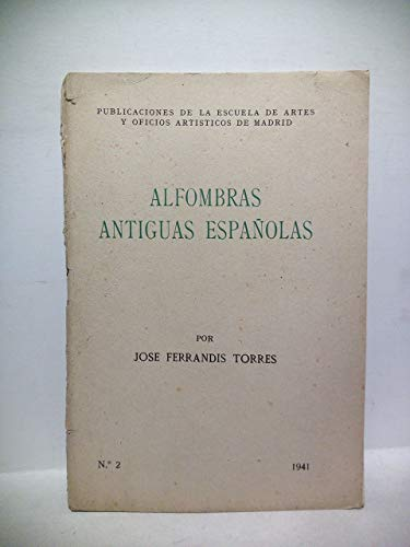 Alfombras antiguas españolas
